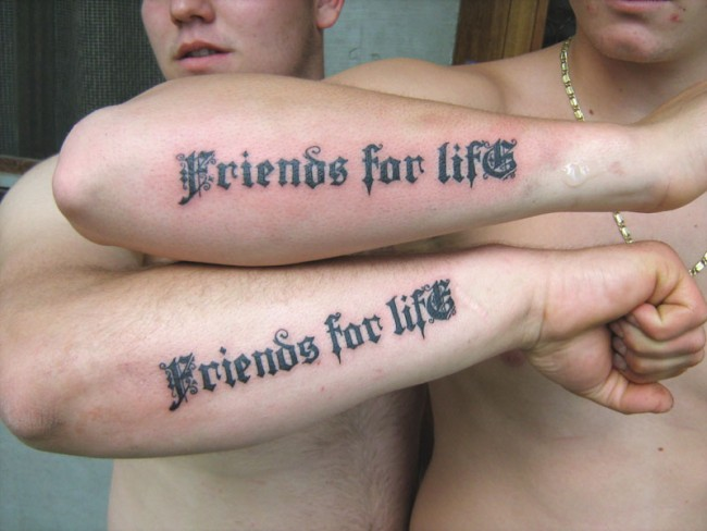 Best Friend Tattoos for BFFs