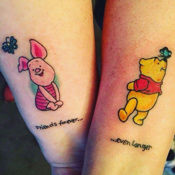 Winnie the Pooh Best friends forever