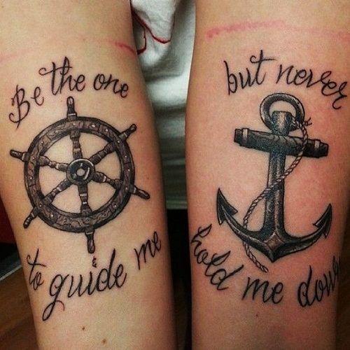 friendship tattoo quote design