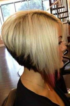 Angled Short Bob Hairstyles - Best Short Hair Styles