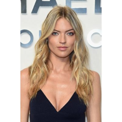 martha hunt long haircut