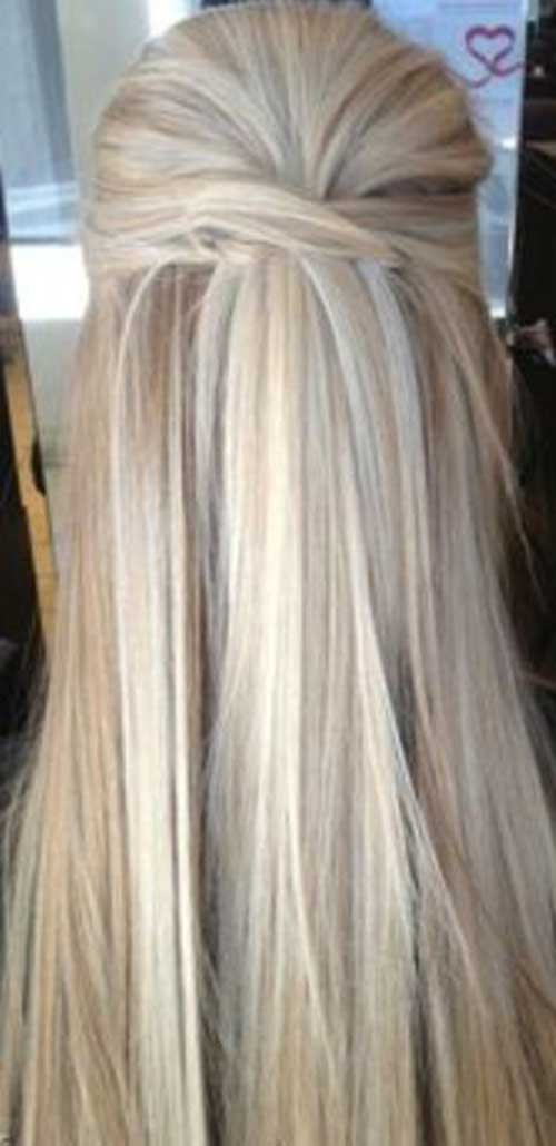 Simple Hairstyle Up : 20 best simple straight hairstyle ideas 2017 entertainmentmesh