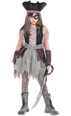 9-Scary Halloween Costumes for Girls