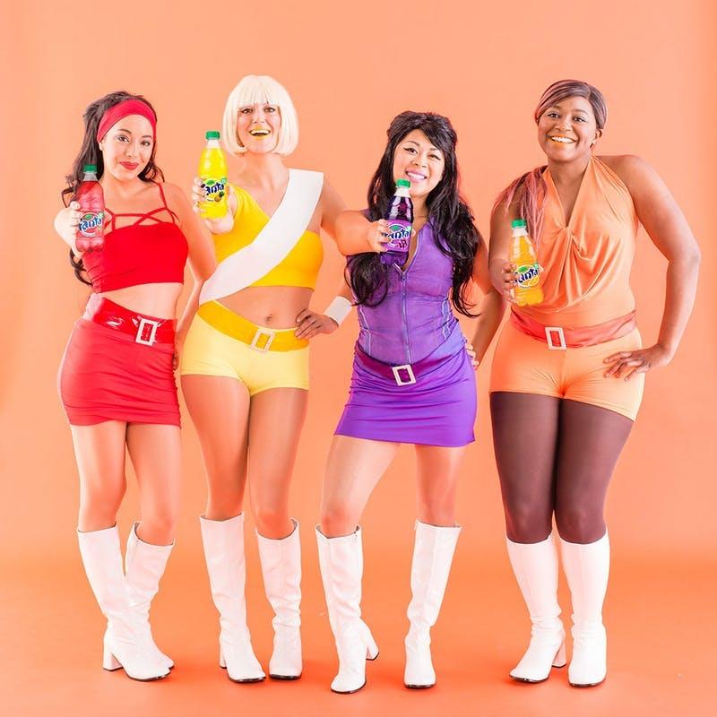 DIY Fantastic girls Group Halloween Costume