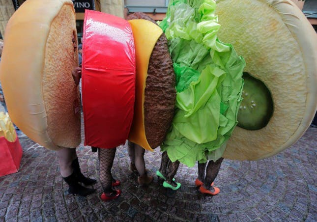 Meaty Burger group halloween costume ideas