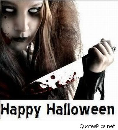 Scary-girl-with-bloody-knife-says-happy-halloween-pic