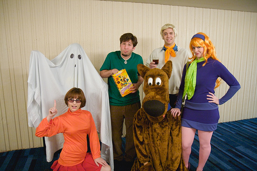 Scooby doo's group costume idea for halloween