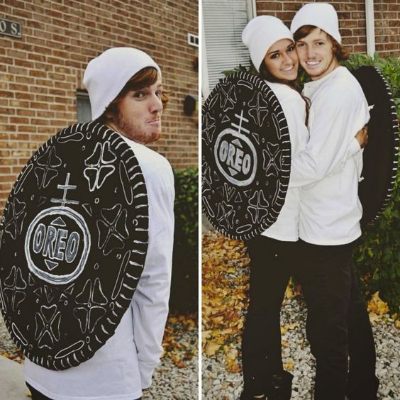 diy cute funny Oreo cookies halloween costume