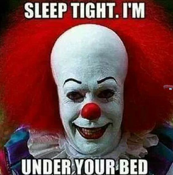 sleep tight i'm under your bed