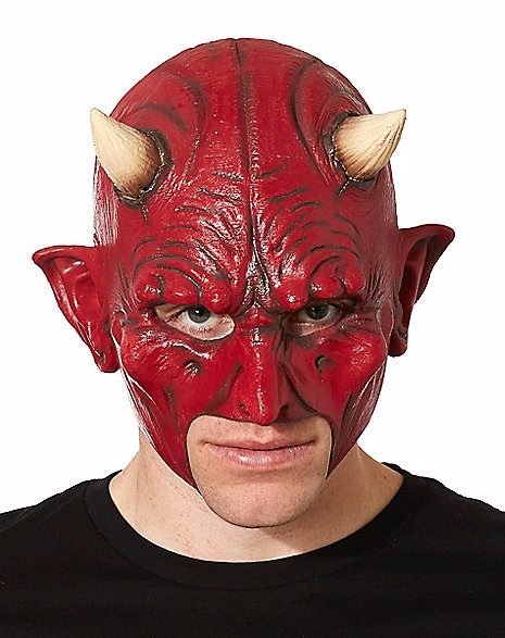 Chinless Devil Scary Halloween Mask
