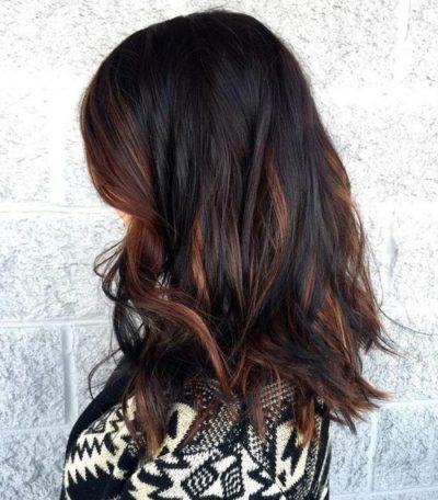 Dark Caramel Brown highlights Is the New Color Trend You Should Try This Fall