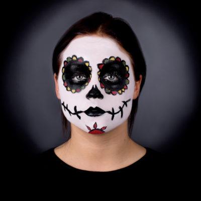 pretty sugar skull face paint2 entertainmentmesh