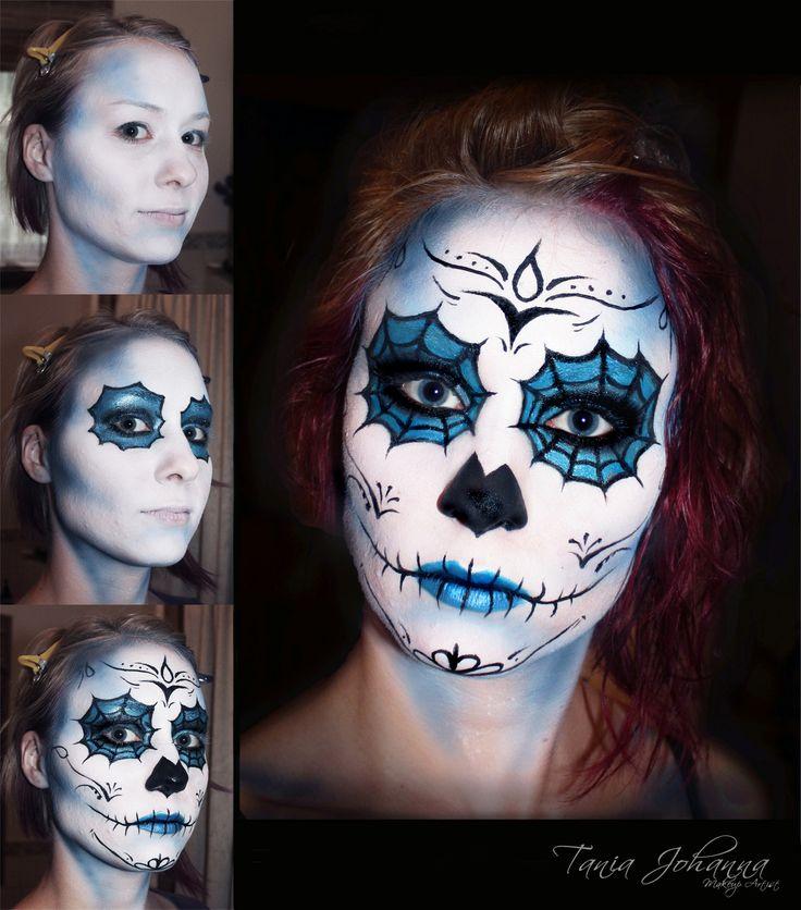 Spidery Face paint by Tania Johanna