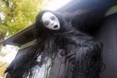 creepy outside halloween decoration ideas