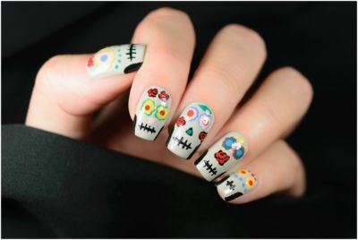 cute creative colorful nail art