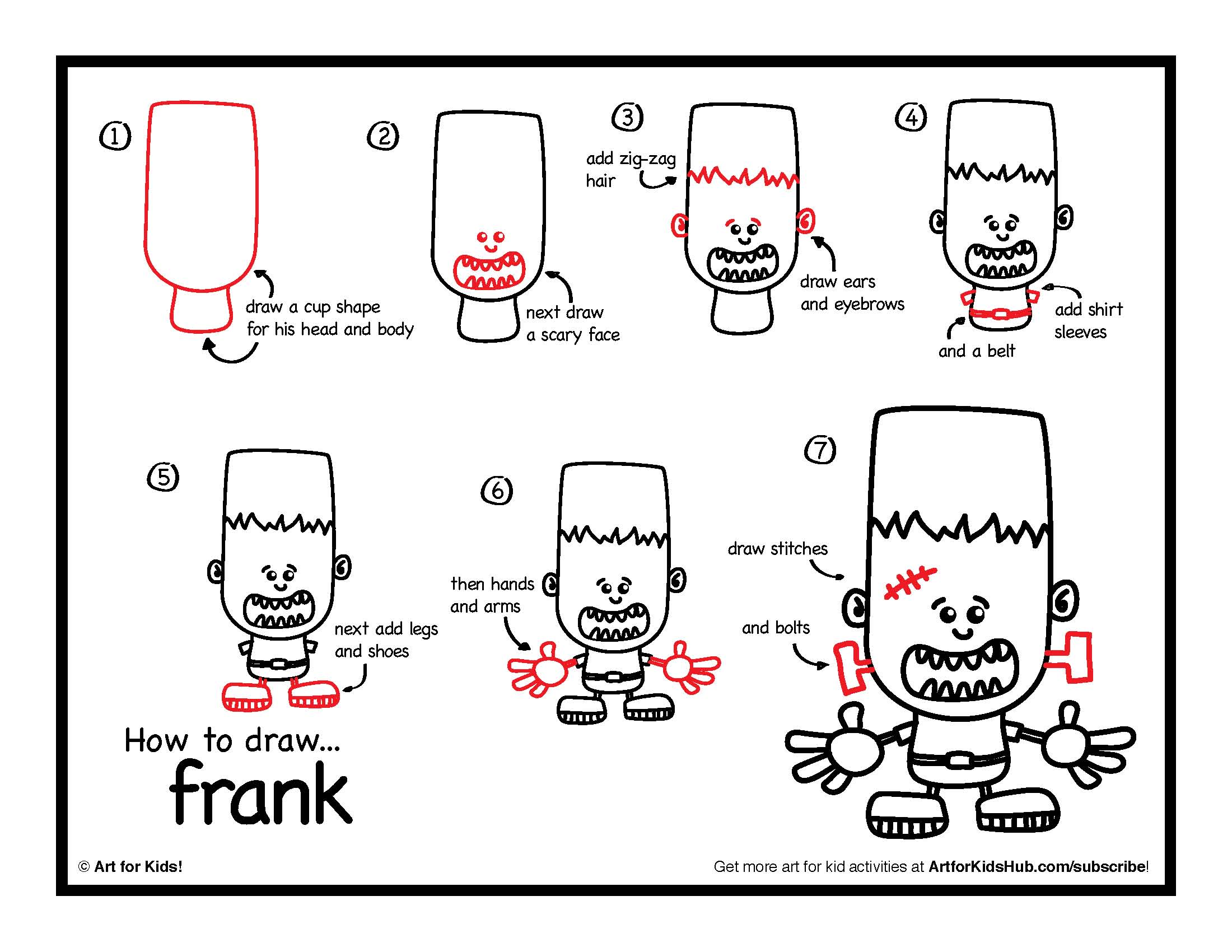 easy-way-to-draw-a-monster-coloring-pages
