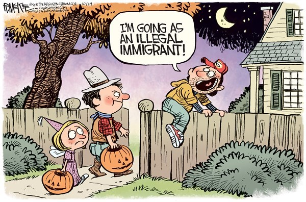 i'm going as an illegal immigrant
