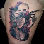jack and sally couple tattoos