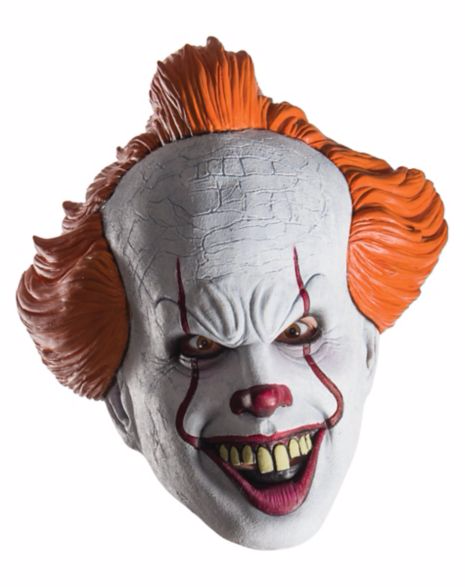 pennywise the it clown mask for Halloween