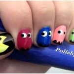 cool-Pac-man-nail-art