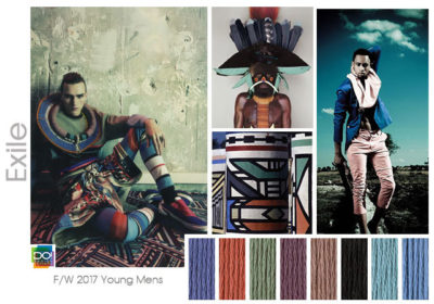 fall winter 2017-2018 colors trends patterns - Exile