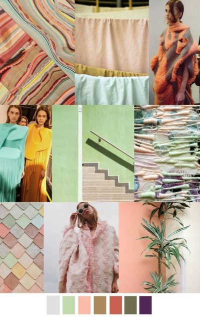 fall winter 2017-2018 colors trends patterns - Melon Choly