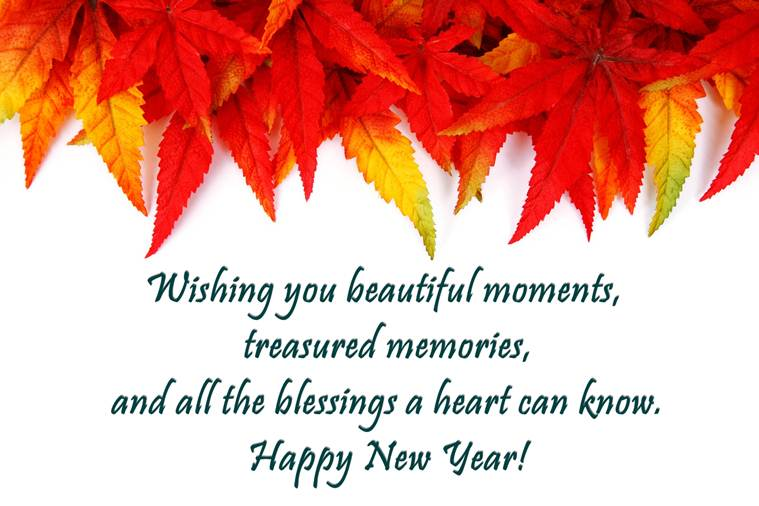 christian new year messages picture
