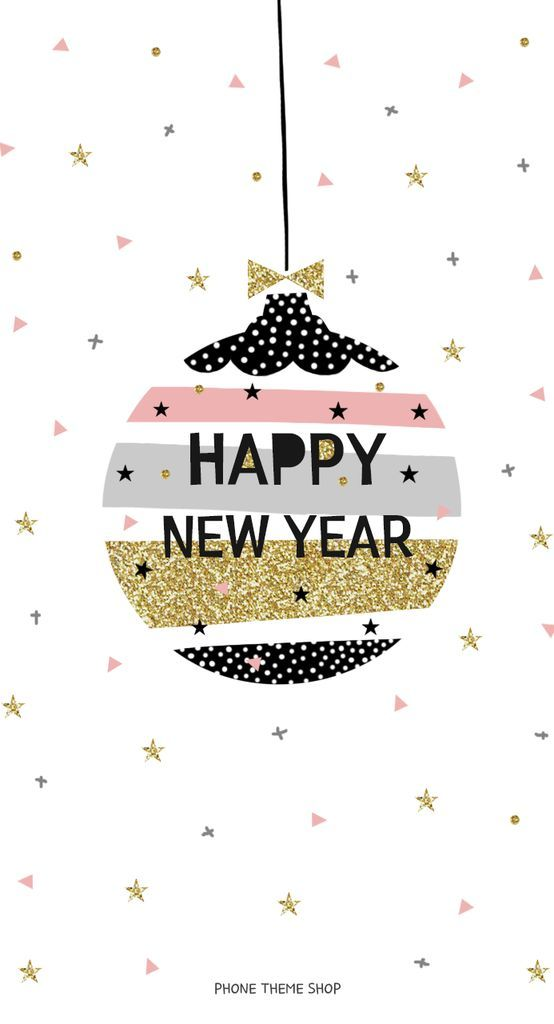 Christmas happy new year iPhone picture wallpaper 2018