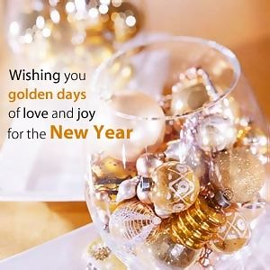 heart touching new year wishes image