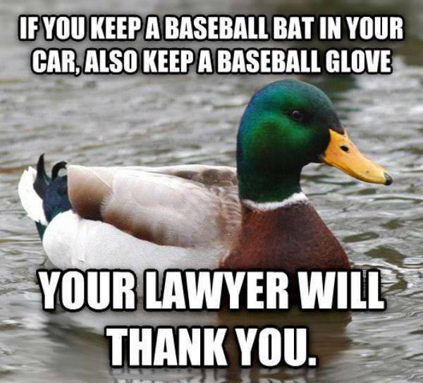 sarcastic funny thank you memes about law