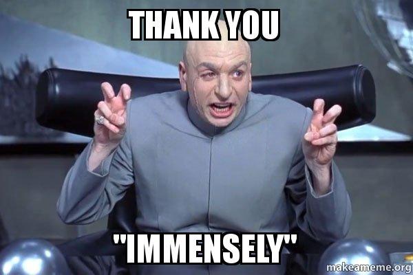 thank you austin powers fire the laser meme