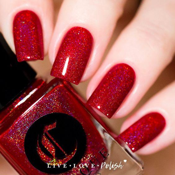 Fiery nails