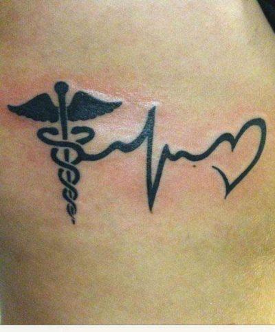 Inspirational faith hope love tattoo