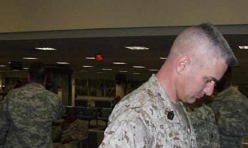 Military Flat Top Haircut
