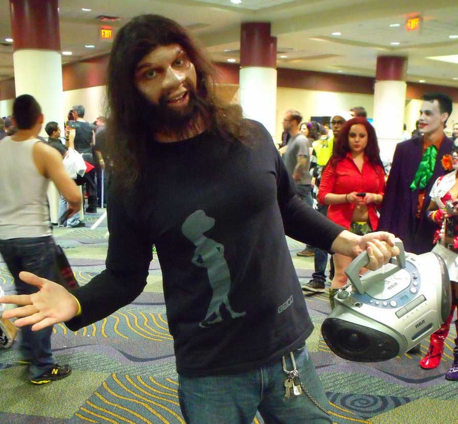 GEICO Cavemen halloween costume ideas for long hair guys