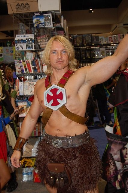 he-man halloween costume ideas for men with long hair