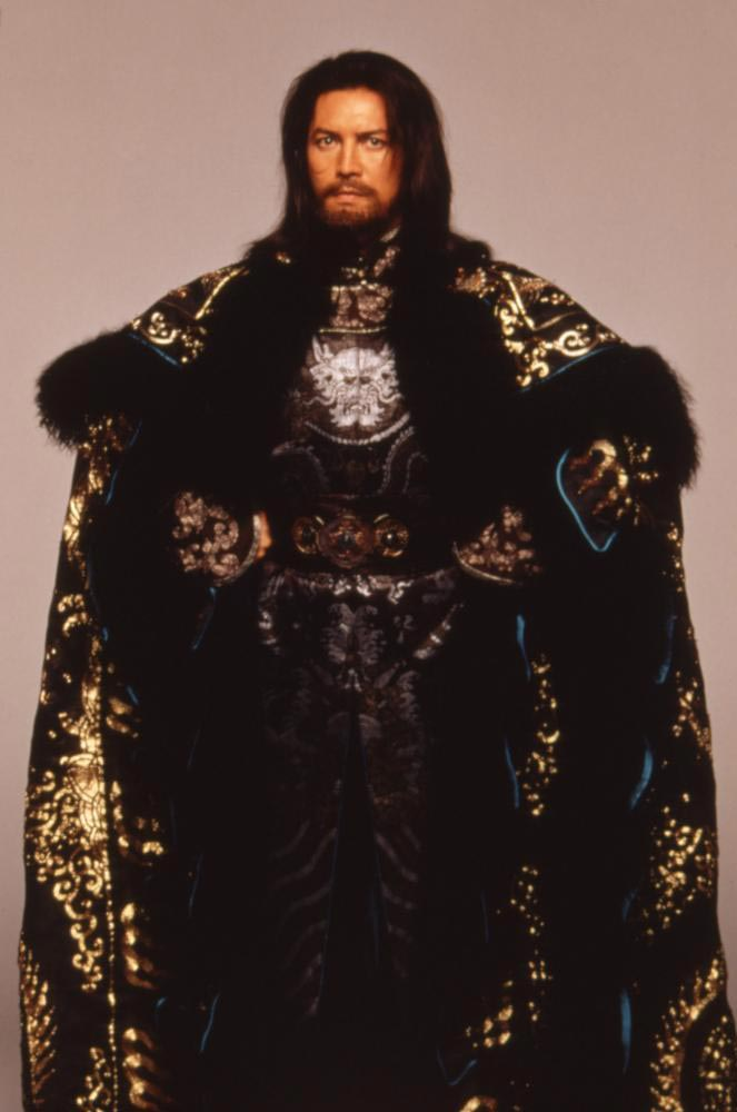 mongolian king halloween costume ideas for men with long hair