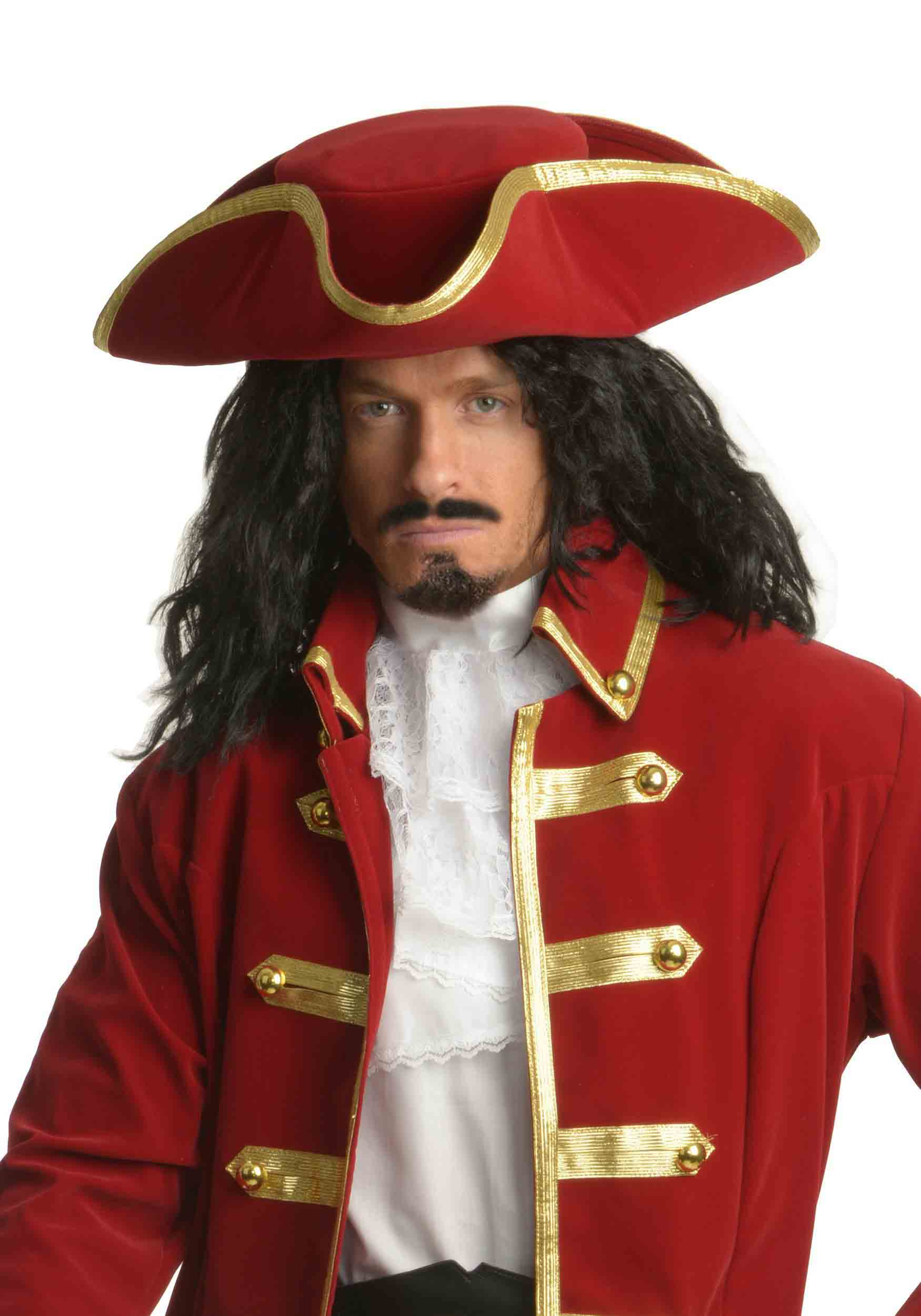 pirate halloween costume ideas for men with long hair