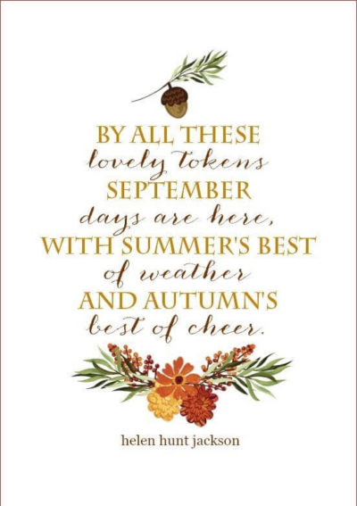 fall the season quotes