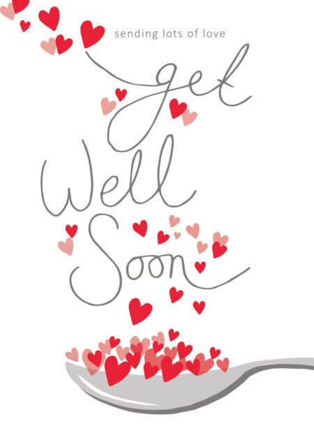 get well soon images for love