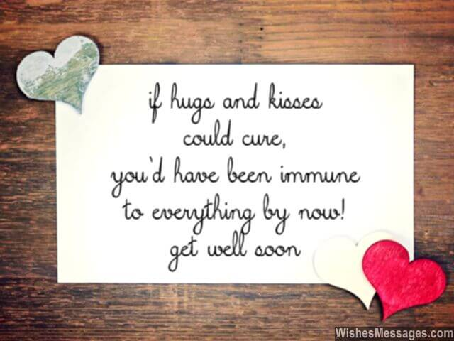 get well soon messages for love