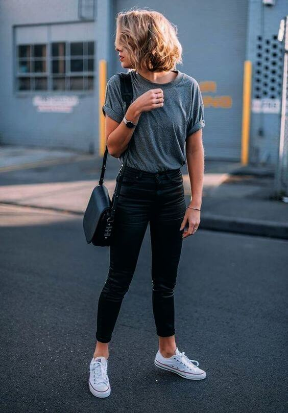 teenage girl t shirt jeans outfit ideas