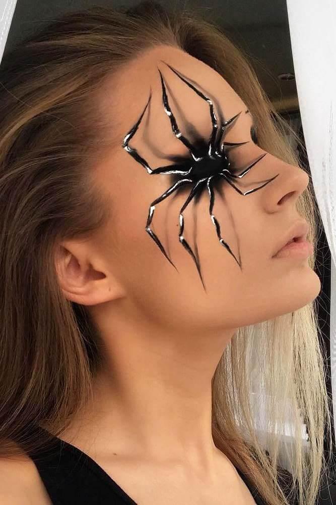3d fantasy spider eye makeup ideas