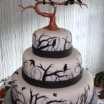 wedding cakes for halloween