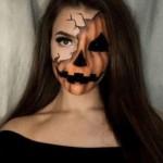 scary pumpkin halloween makeup ideas