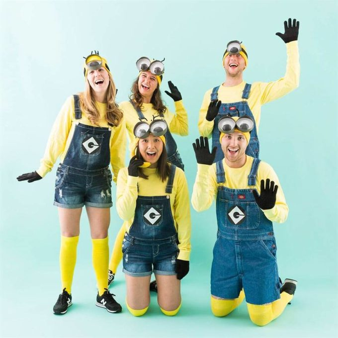 minions halloween costume ideas for family