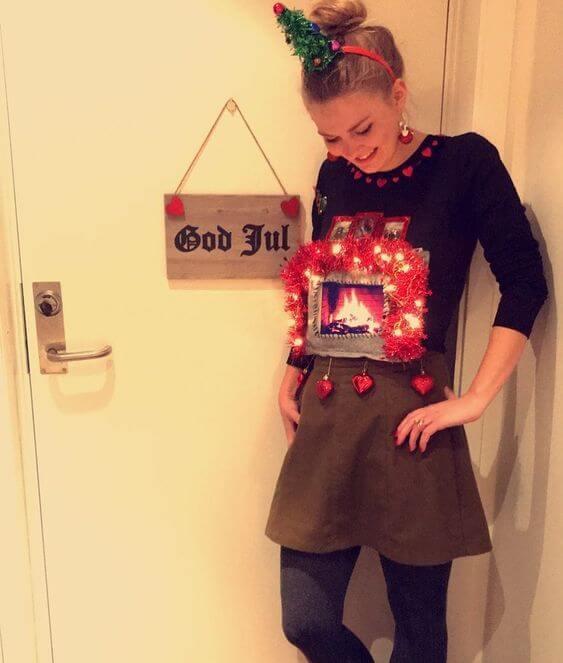 cute funny christmas dress ideas for girls