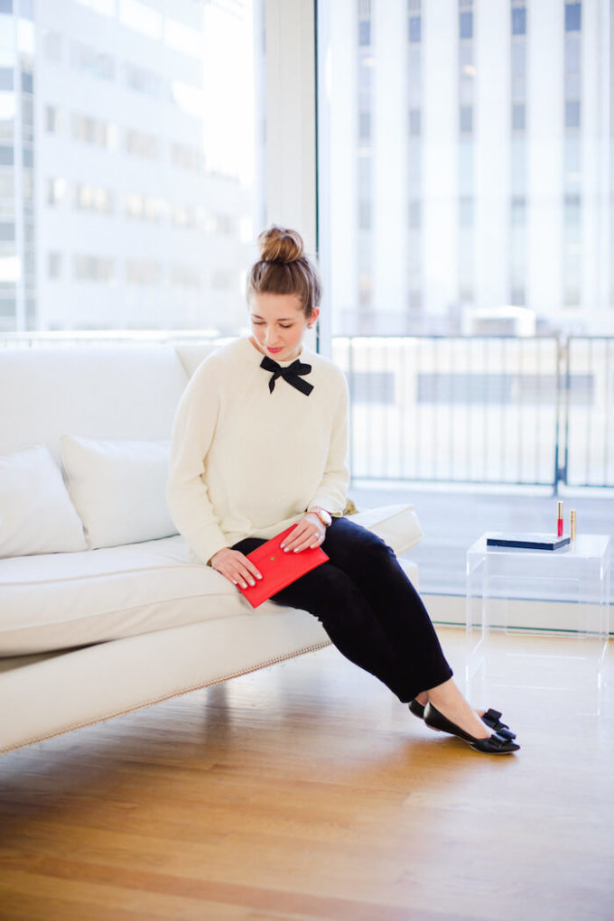 female black and white christmas outfit ideas for chruch
