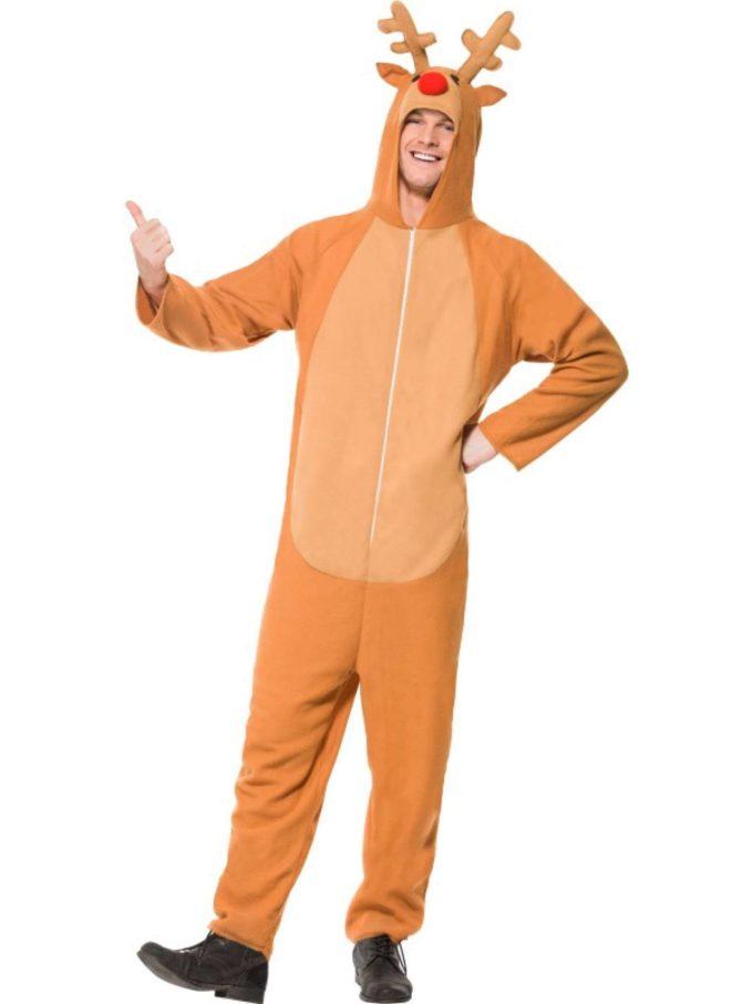 funny christmas reindeer costume ideas for men
