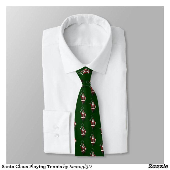 santa tie christmas suit ideas for men